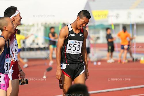 Abdul Hakim Sani Brown (), <br /> JULY 30, 2015 - Athletics : <br /> 2015 All-Japan Inter High School Championships, <br /> Men's 100m Final <br /> at Kimiidera Athletic Stadium, Wakayama, Japan. <br /> (Photo by YUTAKA/AFLO SPORT)