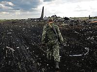 49 killed as Ukrainian plane is shot down in Lugansk