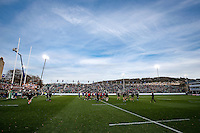 A general view of the East Stand prior to the match. European Rugby Champions Cup match, between Bath Rugby and Leinster Rugby on November 21, 2015 at the Recreation Ground in Bath, England. Photo by: Rogan Thomson / JMP for Onside Images