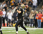 New Orleans Saints Drew Brees (9) vs. New York Giants at the Superdome in New Orleans, La. on Monday, November 28, 2011. New Orleans won 49-24.