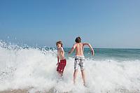 Felix and Lucas. Sag Beach. The Barn. Bridgehampton, New York 2012