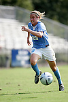 Heather O'Reilly, of UNC, on Sunday September 18th, 2005 at Duke University's Koskinen Stadium in Durham, North Carolina. The University of North Carolina Tarheels defeated the University of Alabama-Birmingham Blazers 4-0 during the Duke adidas Classic soccer tournament.
