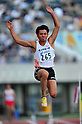 Rikiya Saruyama (JPN), JUNE 11th, 2011 - Athletics : The 95th Japan Athletics National Championships Saitama 2011, Men's Long Jump final at Kumagaya Athletic Stadium, Saitama, Japan. (Photo by Jun Tsukida/AFLO SPORT) [0003] .
