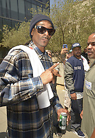 LOS ANGELES, CA - JULY 08: Rapper Snoop Dogg attends the UNITY Protest Mach at the Los Angeles Police Department in Downtown Los Angeles on July 8, 2016 in Los Angeles, California. Credits: Koi Sojer/Snap'N U Photos/MediaPunch