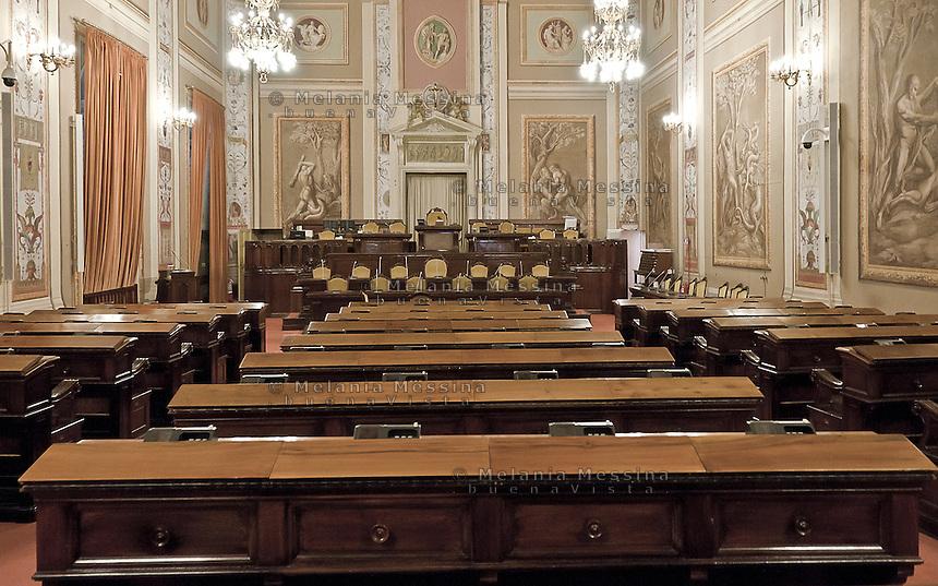 Palermo, Assemblea regionale siciliana, aula a palazzo dei normanni