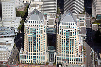 aerial photograph Federal buildings Oakland, California