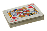 Deck of Playing Cards showing The King of Hearts