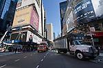 Broadway area in New york City in October 2008