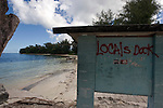 Photo shows the beach south of Garapan where US marines first landed in Saipan on 22 February 2011. .Photographer: Robert Gilhooly