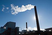 Power Plant of the University of Michigan, Ann Arbor, Michigan