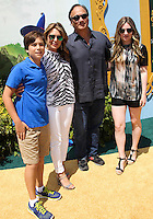 "WESTWOOD, LOS ANGELES, CA, USA - MAY 03: Jennifer Sloan, Jim Belushi at the Los Angeles Premiere Of ""Legends Of Oz: Dorthy's Return"" held at the Regency Village Theatre on May 3, 2014 in Westwood, Los Angeles, California, United States. (Photo by Celebrity Monitor)"
