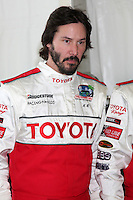 Keanu Reeves at  the 33rd Annual Toyota Pro/Celeb Race Press Day at the Grand Prix track in Long Beach, CA on April 7, 2009.©2009 Kathy Hutchins / Hutchins Photo....                .