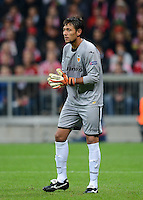 FUSSBALL   CHAMPIONS LEAGUE   SAISON 2012/2013   GRUPPENPHASE   FC Bayern Muenchen - FC Valencia                            19.09.2012 Torwart Diego Alves (Valencia CF)