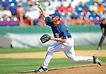 15 March 2008: Washington Nationals' pitcher Joel Hanrahan on the mound during a Spring Training game against the Los Angeles Dodgers at Space Coast Stadium, in Viera, Florida...Mandatory Photo Credit: Ed Wolfstein Photo