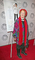 Marnie Nixon at the premiere of Elaine Stritch: Shoot Me' Mcbride / FacetoFace / MediaPunch USA ONLY