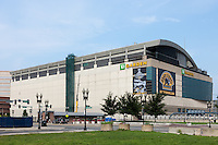 TD Garden, home of the NBA Boston Celtics and NHL Boston Bruins