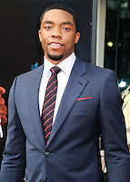 NEW YORK CITY, NY, USA - JULY 21: Chadwick Boseman at the New York Premiere Of 'Get On Up' held at The Apollo Theater on July 21, 2014 in New York City, New York, United States. (Photo by Celebrity Monitor)