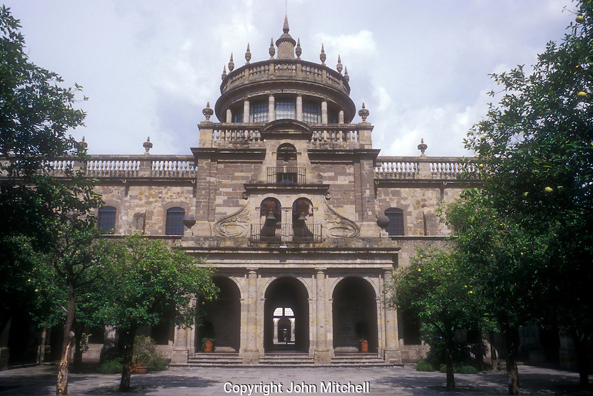 The Instituto Cultural de Cabanas building in Guadalajara, Jalisco, Mexico