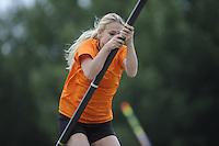 FIERLJEPPEN/POLSSTOKVERSPRINGEN: 03-09-2016, Linschoten, Pollepleats Nationale Competitie, ©foto Martin de Jong