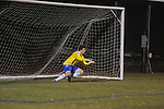 Oxford High's Henry Webb vs. Starkville in MHSAA playoff high school soccer action in Oxford, Miss. on Tuesday, January 29, 2013. Oxford won 3-1 to advance to the state championship game.