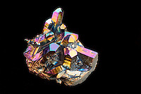 TITANIUM COATED QUARTZ CRYSTAL<br />