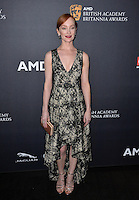 BEVERLY HILLS, CA. October 28, 2016: Lotte Verbeek at the 2016 AMD British Academy Britannia Awards at the Beverly Hilton Hotel.<br /> Picture: Paul Smith/Featureflash/SilverHub 0208 004 5359/ 07711 972644 Editors@silverhubmedia.com