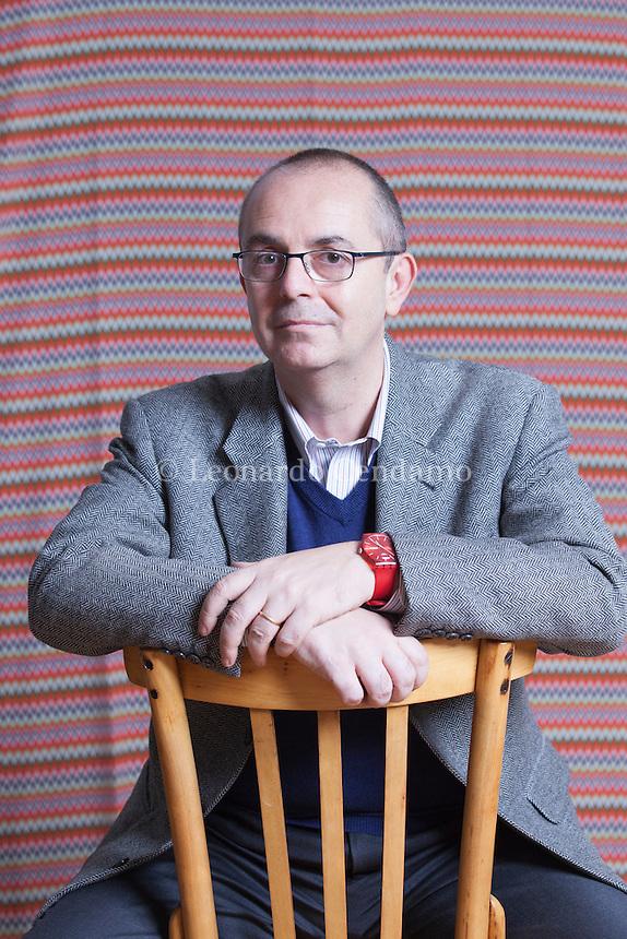 Paolo Zaninoni, ex direttore editoriale della Rizzoli, ha preso il posto di Oliviero Ponte di Pino e ha assunto lo stesso ruolo in Garzanti. Milano, 8 novembre 2013. © Leonardo Cendamo