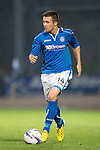 St Johnstone FC Season 2013-14<br /> Gwion Edwards<br /> Picture by Graeme Hart.<br /> Copyright Perthshire Picture Agency<br /> Tel: 01738 623350  Mobile: 07990 594431