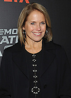 NEW YORK, NY - NOVEMBER 03:  Katie Couric attends the 'True Memoirs Of An International Assassin' New York premiere at AMC Lincoln Square Theater on November 3, 2016 in New York City. Photo by John Palmer/ MediaPunch