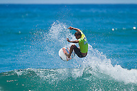 Burleigh Heads, Queensland, Australia (Saturday February 19th 2011). Julian Wilson (AUS). .Breaka Burleigh Pro - 2011 An International 4-Star Rated $US85,000 Event. DEFENDING event champion Taj Burrow (AUS) continued to send a warning shots through the field  of the  Breaka Burleigh Pro today with strong displays in the Round of 32 and the Quarter finals. Tiago Pires (PRT) also showed himself as a finals contender along with Joel Parkinson (AUS).. Photo: joliphotos.com