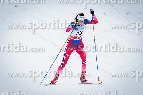 Kari Vikhagen Gjeitnes (NOR) during Ladies 1.2 km Free Sprint Qualification race at FIS Cross<br /> Country World Cup Planica 2016, on January 16, 2016 at Planica,Slovenia. Photo by Ziga Zupan / Sportida