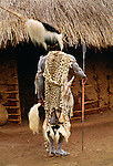 Kikuyu dancer, Kenya