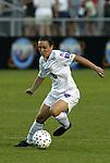 11 June 2003: Kelly Golebiowski of Australia. The Carolina Courage defeated the Washington Freedom 3-0 at SAS Stadium in Cary, NC in a regular season WUSA game..Mandatory Credit: Scott Bales/Icon SMI