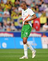 FUSSBALL   INTERNATIONALES TESTSPIEL  SAISON 2011/2012   SV Werder Bremen - Fenerbahce Istanbul               23.08.2011 NALDO (Werder Bremen)