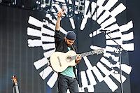 LONDON, ENGLAND - JULY 8: Nick Mulvey performing at British Summertime, Hyde Park on July 8, 2016 in London, England.<br /> CAP/MAR<br /> &copy;MAR/Capital Pictures /MediaPunch ***NORTH AND SOUTH AMERICAS ONLY***