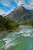 Tutoko River, Fiordland, New Zealand