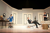 "Lauren Barone (Gabriella), Ben Nordstrom (Bernard) and Bryan T. Donovan (Robert) perform during the dress rehersal of ""Boeing Boeing"" on Tuesday June 12th 2012 in Kennedy Theater (Progress Energy Center for the Performing Arts)."