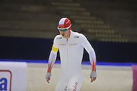 SCHAATSEN: HEERENVEEN: 20-12-2013, IJsstadion Thialf, KKT Trainingswedstrijd 1500m, Maurice Vriend, ©foto Martin de Jong