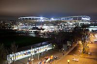 FUSSBALL   DFB POKAL   SAISON 2011/2012  ACHTELFINALE  21.12.2011 VfB Stuttgart - Hamburger SV  Aussenansicht Mercedes Benz Arena Stuttgart