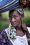 A woman in Riimenze, a village in Southern Sudan's Western Equatoria State. NOTE: In July 2011 Southern Sudan became the independent country of South Sudan.