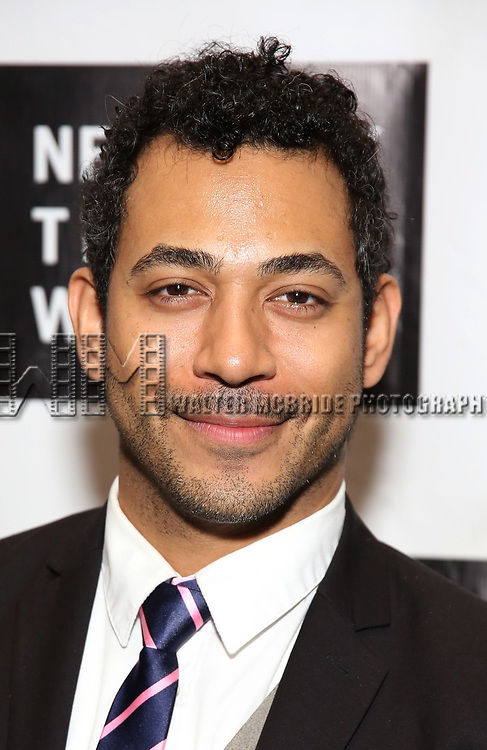 Justin Johnson attends New York Theatre Workshop's 2017 Spring Gala at the Edison Ballroom on May 15, 2017 in New York City.