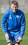 St Johnstone Training&hellip;.30.09.16<br />David Wotherspoon pictured during training this morning<br />Picture by Graeme Hart.<br />Copyright Perthshire Picture Agency<br />Tel: 01738 623350  Mobile: 07990 594431