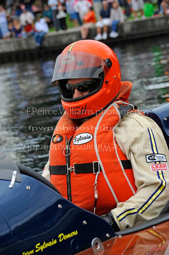 "Sylvain Demers, GP-1 ""Desourdy Special"" (Lauterbach Grand Prix hydroplane)"