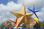 Cancun downtown and La Isla Shopping Village. Cancun, Mexico
