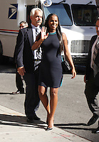 NEW YORK, NY-August 23:  Tika Sumpter at the Late Show with Stephen Colbert  to talk about her new movie Southside with You in New York. August 23, 2016. Credit:RW/MediaPunch