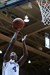23 November 2014: Duke's Sierra Calhoun. The Duke University Blue Devils hosted the Marquette University Golden Eagles at Cameron Indoor Stadium in Durham, North Carolina in a 2014-15 NCAA Division I Women's Basketball game. Duke won the game 83-51.