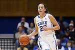 23 November 2014: Duke's Rebecca Greenwell. The Duke University Blue Devils hosted the Marquette University Golden Eagles at Cameron Indoor Stadium in Durham, North Carolina in a 2014-15 NCAA Division I Women's Basketball game. Duke won the game 83-51.