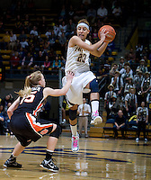 CAL Women's Basketball v. Oregon St., February 24, 2013