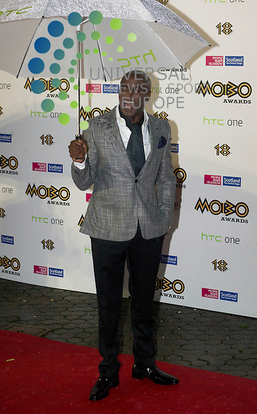 Trevor Nelson during the MOBO Awards 18th Anniversary Show at the SSE Hydro, Glasgow.<br /> Picture: Universal News And Sport (Scotland) 19 October 2013