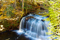 Rock River Falls located in Chatham, MI.